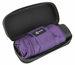 Travel Umbrella with Waterproof Case - Small, Compact Umbrel