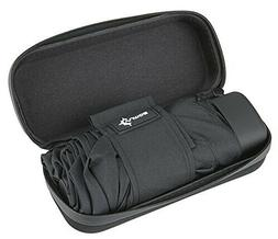 Travel Umbrella with Waterproof Case - Small and Compact Umb