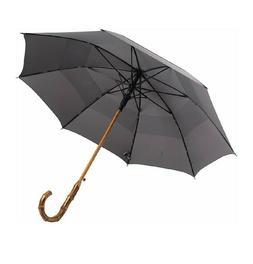 UK Designed—Balios Prestige Walking Stick Umbrella—Bambo