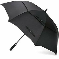 Ultimate Golf Umbrella Double-Canopy Large Oversize Black Wi
