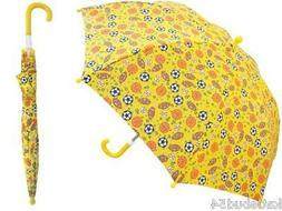 RainStoppers Boy's Sports Star Print Umbrella, 34-Inch