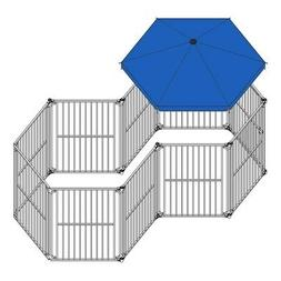 ALEKO Umbrella 60 inch Cover for Large Sized Heavy Duty Play