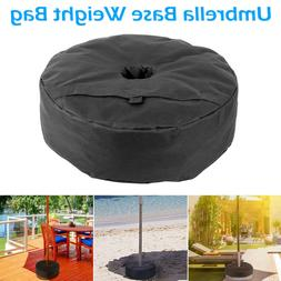 "Umbrella Base Stand 18"" Round Weight Sand Bag for Outdoor  P"