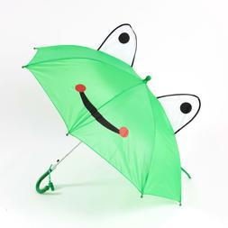 Umbrella Cartoon Anime Folding Round Ear Eyes Lovely Child K
