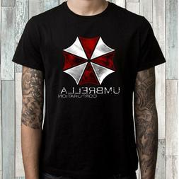 Umbrella Corporation Men's Black T-Shirt Size S to 3XL