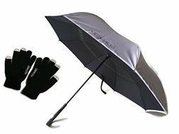 Umbrella-Foldable, Windproof, Smart Double Layer, Automatic-