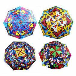 Romero Britto Umbrella Garden A New Day Love Design Travel F