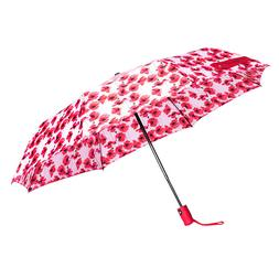 Catherine Malandrino Umbrella - RED/PINK Floral New with tag