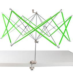 Cutehill Umbrella Swift Yarn Winder, Hand Operated Ball Wind