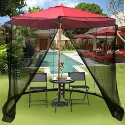 Umbrella Table Screen Cover Net 9/10FT Outdoor Mosquito Bug