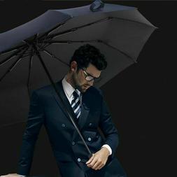 Umbrella, Windproof Umbrella Compact Travel Automatic Open C