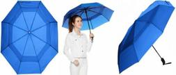 AmazonBasics Umbrella with Wind Vent, Royal Blue