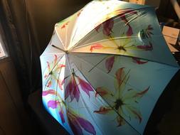 Umbrella Wooden Cane Handle Outdoor Rain Cover by Estee Laud