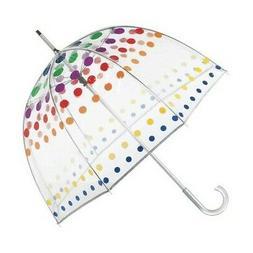 totes Unisex  Signature Manual Bubble Umbrella