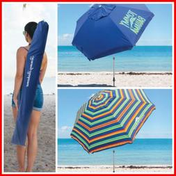 UPF 50+ Tommy Bahama 8-ft Beach Umbrella Summer Umbrella **F