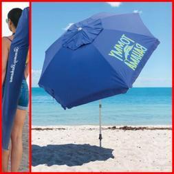 UPF 50+ Tommy Bahama 8-ft Beach Umbrella Summer Umbrella