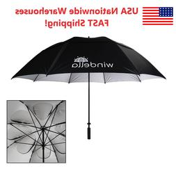 "Windella Golf Umbrella 68"", 62"", 52"" Windproof UPF50+ UV Fit"