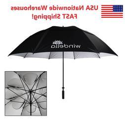 Windproof Golf Umbrellas - Oversize 68 Inch Vented Double Ca