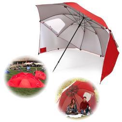 Vented Sun and Rain Protection Canopy Umbrella for Beach-Cam