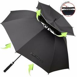 Zomake Vented Sun Umbrella - Golf Umbrella Windproof Large 6