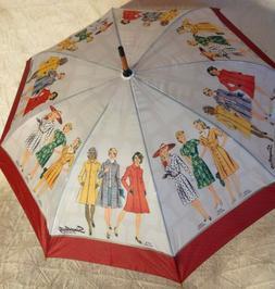 Vintage Circa 1943/1973 Simplicity Pattern Design Large Umbr