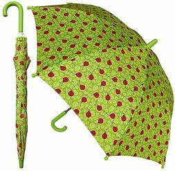 RainStoppers W104 Kid's Bug Print Arc Umbrella, Multi, 32""