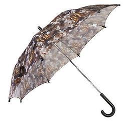 RainStoppers W104 Kid's Western Print Arc Umbrella, Multi, 3