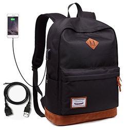 Lmeison Waterproof School Bag Durable Travel Camping Outdoor