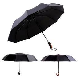 Waterproof Umbrella Man Business Folding Umbrella Fashion Au