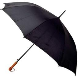 "All-Weather Elite Series 60"" Black Golf Umbrella"