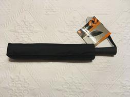 SAMSONITE WINDGUARD AUTO OPEN/CLOSE BLACK UMBRELLA WITH COVE