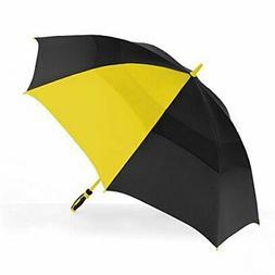 ShedRain Windjammer Vented Color Pop Golf Umbrella: Black an