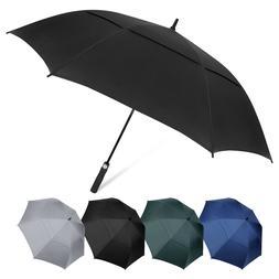 "AOACreations Windproof Automatic Golf Umbrella 62"" Large Ove"