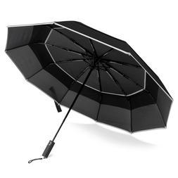 BANANA UMBRELLA, Windproof Compact Travel Umbrella, Auto Clo