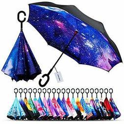 Owen Kyne Windproof Double Layer Folding Inverted Umbrella S