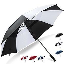 Third Floor Umbrellas 62 Inch Extra Large Windproof Golf Umb