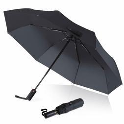 windproof travel umbrella instant dry auto open