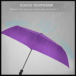 Windproof Umbrella Auto Open Close -210T Finest Reinforced C