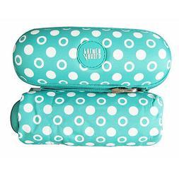 Womens Polka Dot 5Folding Compact Mini Umbrella & Sun Paraso