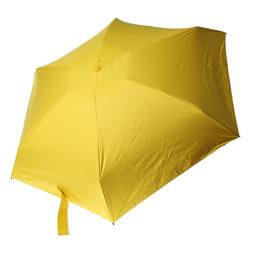 Yellow Folding MINI Anti-UV Pocket Umbrellas Sun Sunshine Ra