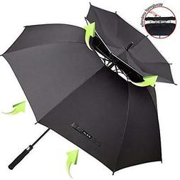 ZOMAKE Golf Umbrellas Vented Sun - Windproof Large 62 Inch D